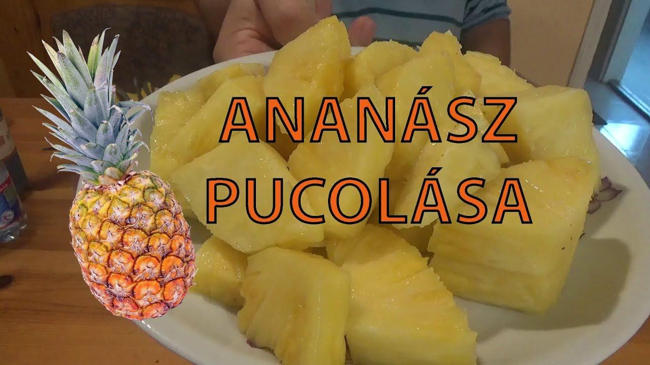 az ananász segíti a férgeket)