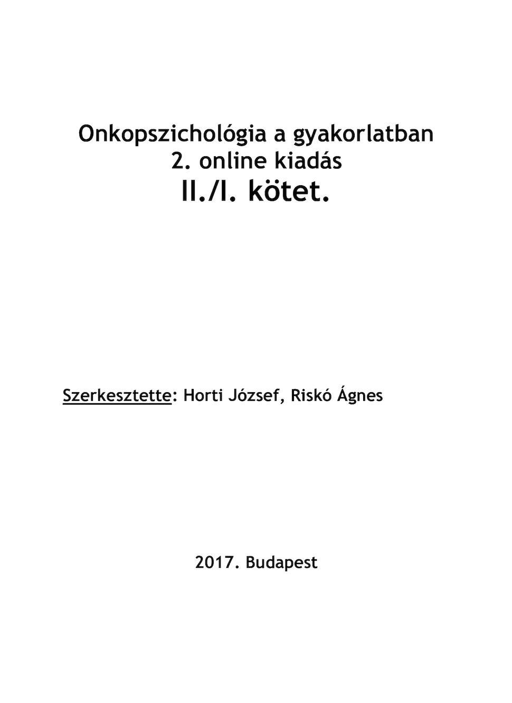 A belgyógyászat alapjai 2. | Digital Textbook Library