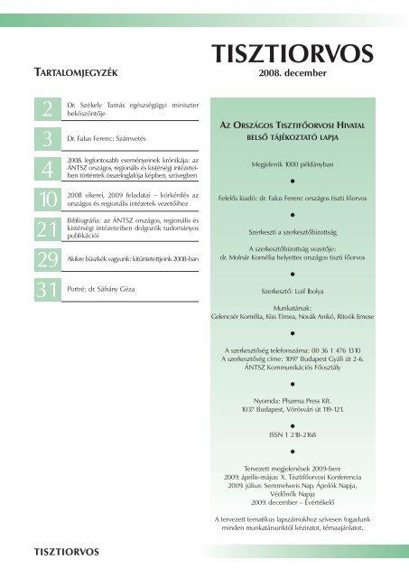 a helminthiasis ellenőrzése)