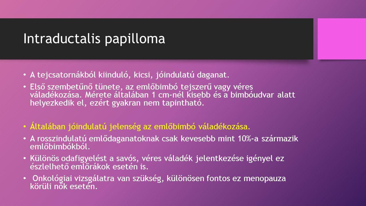 diagnosztikus intraductalis papilloma férgek elleni gyógyszerek és férgek felnőtteknek