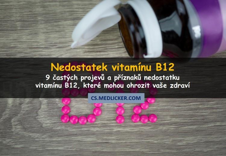 vérszegénység z nedostatku vit b12)