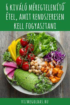 hasznos méregtelenítő ételek