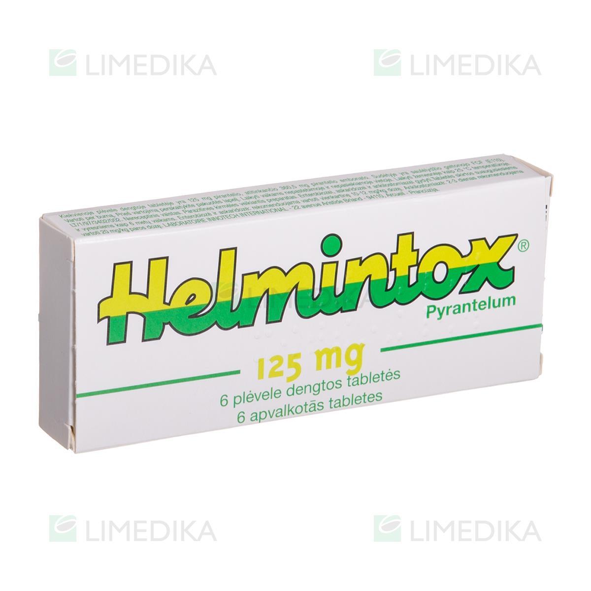helmintox kaip vartoti
