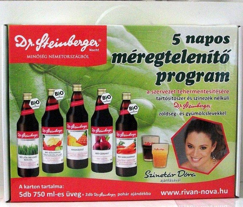 méregtelenítő kúra 3 nap gyümölcslevekkel)