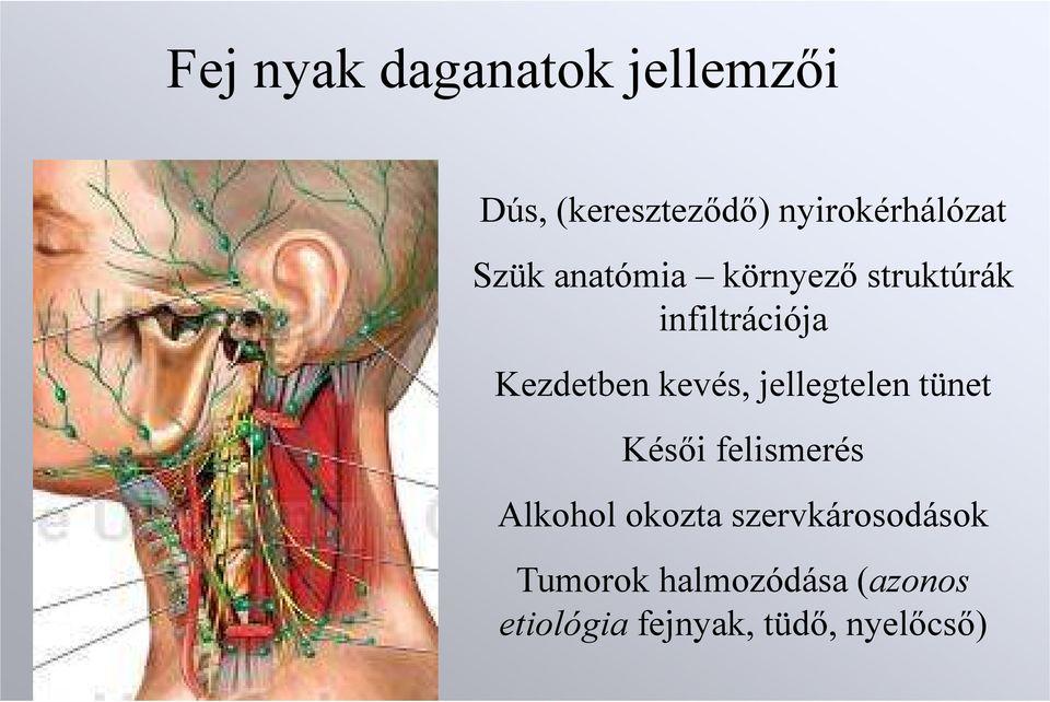 a hpv-vel kapcsolatos fej- és nyaki rák tünetei