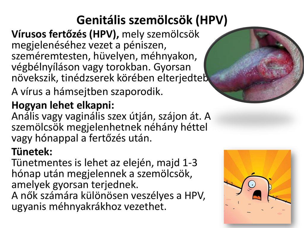 genitális szemölcsök, amelyek szemölcsök