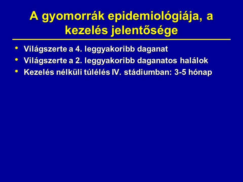 gyomorrák ellátási terv)