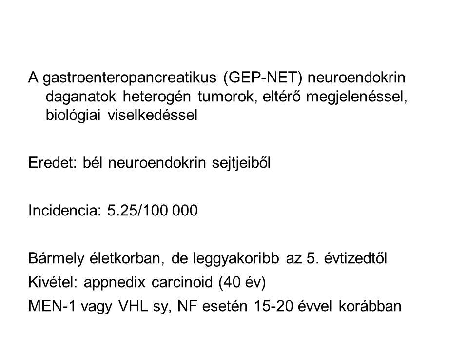 neuroendokrin rákos szervezetek
