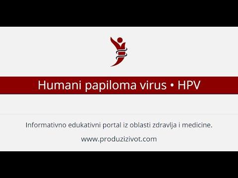 papilloma vírus kod dece)