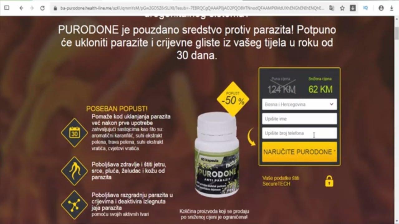 paraziták és crijevima)